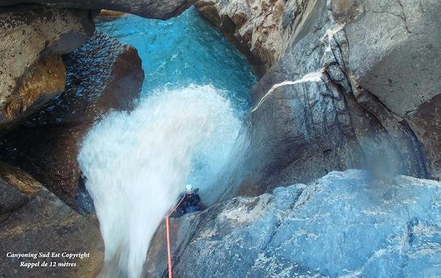 Canyoning Chaudan