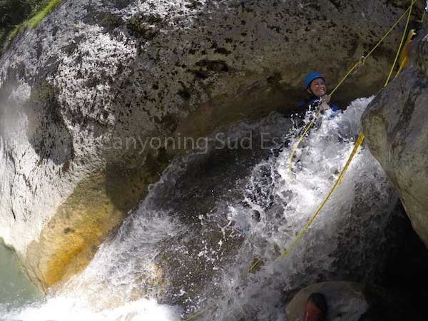 Rappel canyoning Grasse