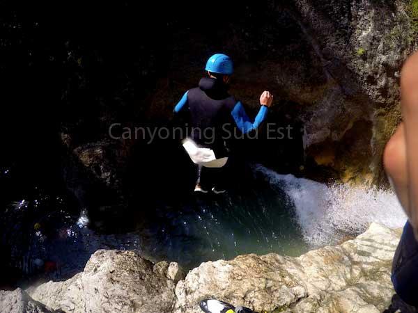 Saut canyon andon