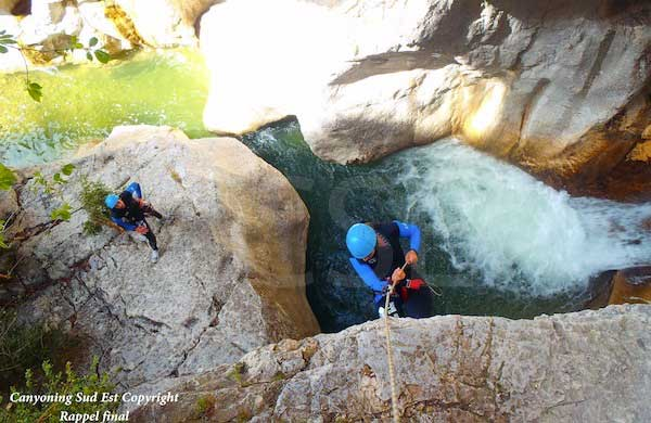 Canyoning Haut Jabron