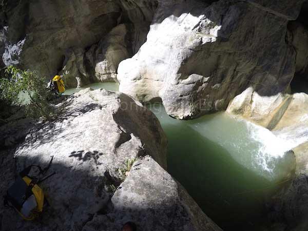 Vasque finale du Haut Jabron