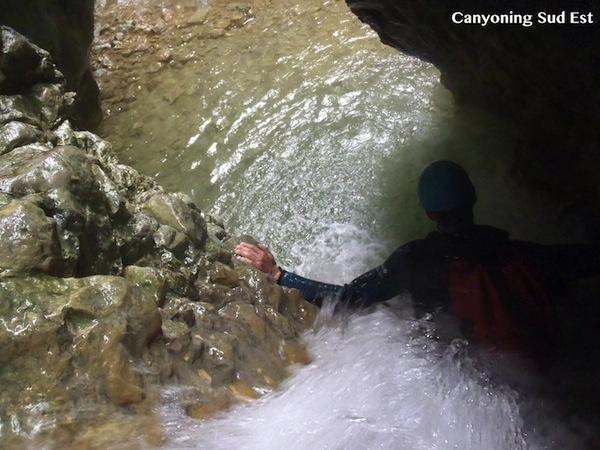 Imberguet canyoning