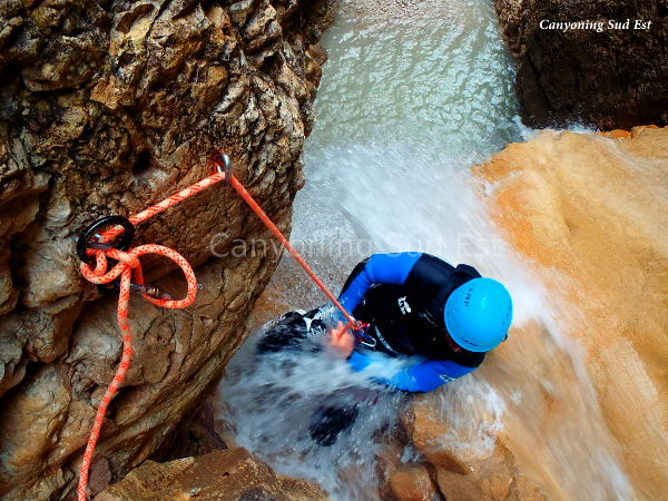 Annot Canyoning