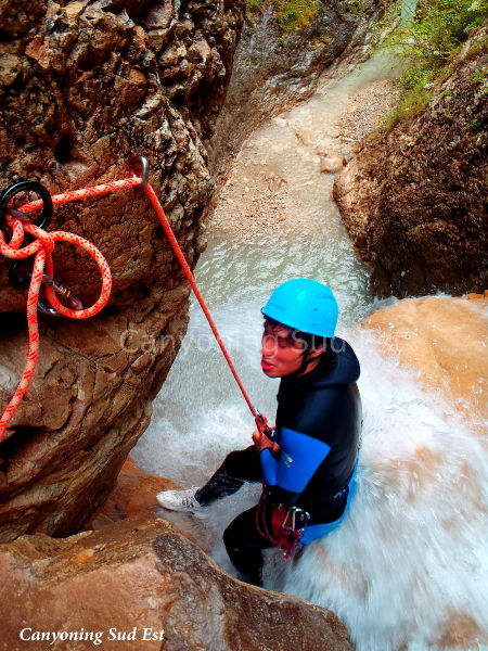Canyoning Annot