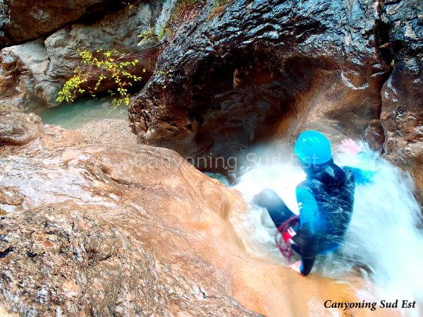 Canyoning Saint Jean
