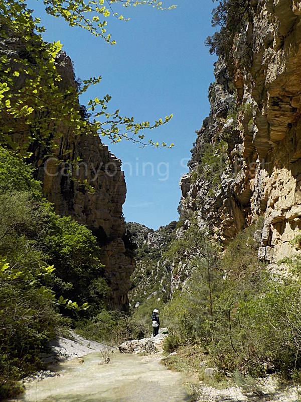 Fin canyon de Moustiers