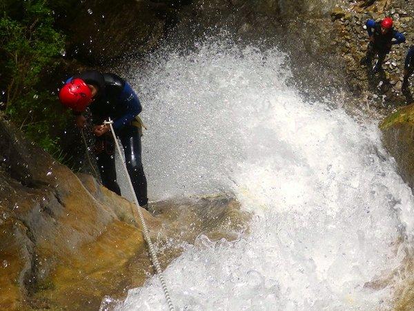 Moules Marinières canyoning