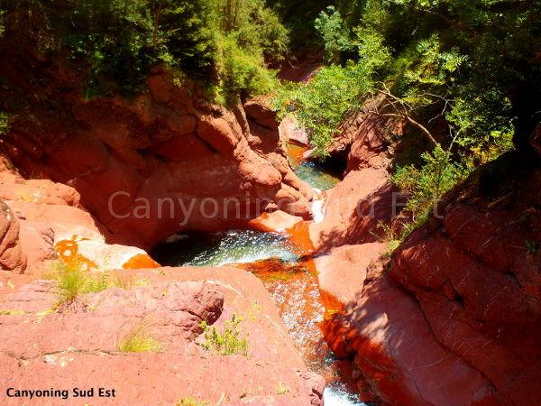 Le canyon du Raton