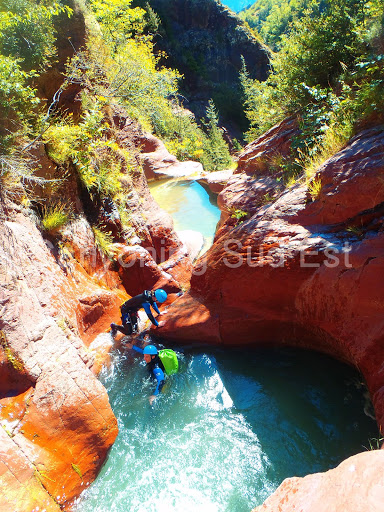 Saut canyoning Raton
