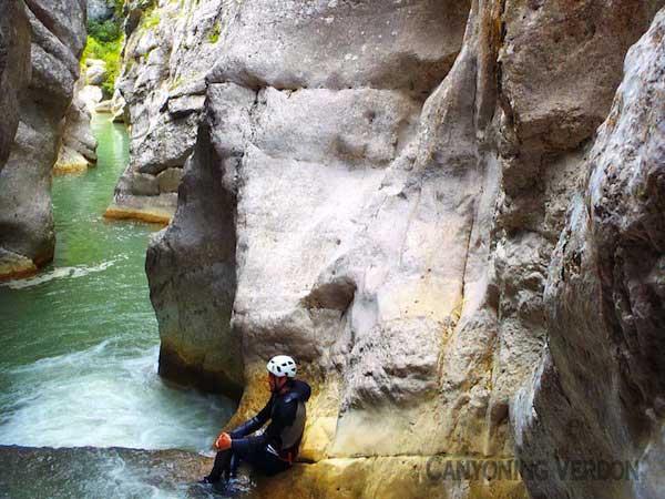 Saint Auban Canyoning