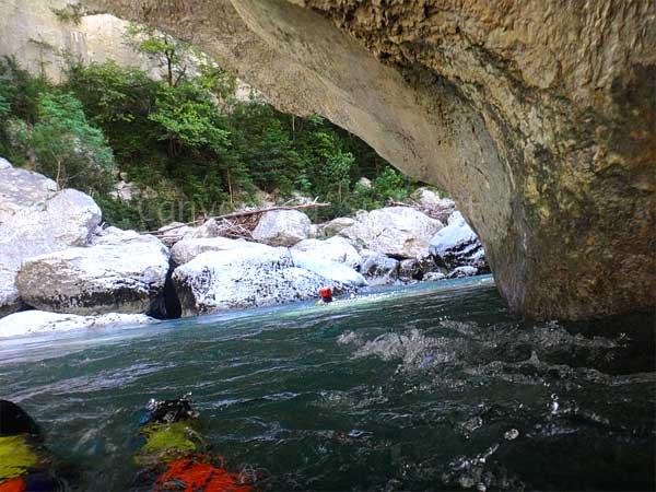 Aqua rando gorges du Verdon