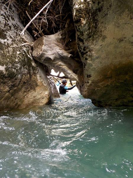Tunnel du couloir Samson