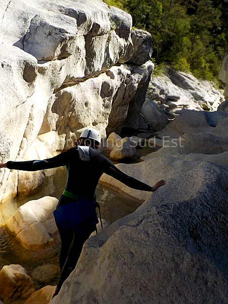�troiture canyon Trigance