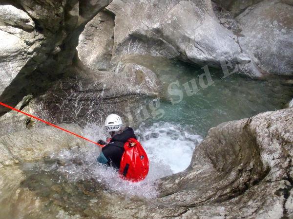 Le canyon de Valbelle