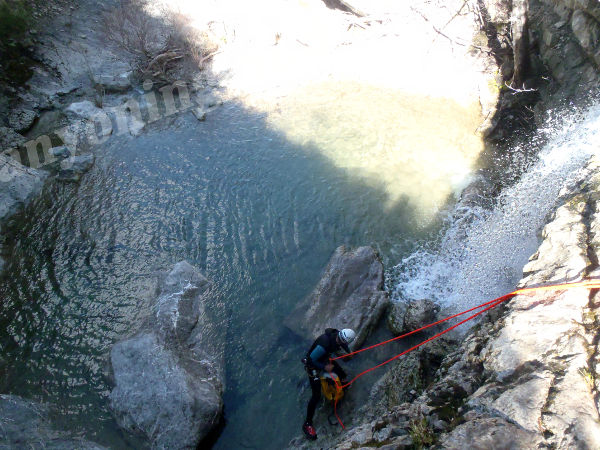 Rappel Canyoning Valbelle