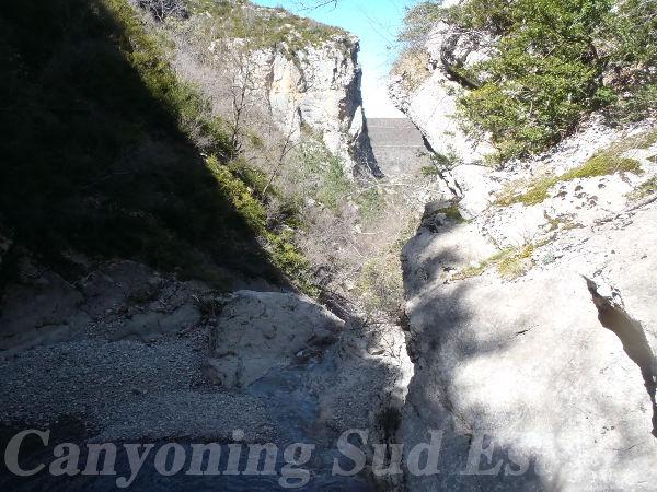 Valbelle canyon